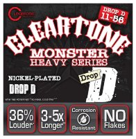 Cleartone 9456 Coated Electric Heavy Series Drop D 11/56