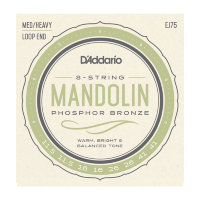D'Addario EJ75 Mandolin Phosphor Bronze Medium/Heavy 11.5/41