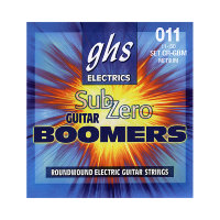 GHS CR-GBM SUB-ZERO Boomers Electric Guitar Strings 11/50