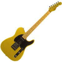 G&L ASAT CLASSIC (Yukon Gold, Maple, 1-Ply Black) № CLF067623