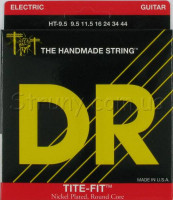 DR HT-9.5 Tite-Fit Nickel Plated Half-Tit Electric Strings 9.5/44