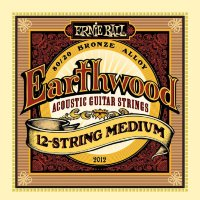 Ernie Ball 2012 Earthwood 12-Strings Light Acoustic 80/20 Bronze 11/52