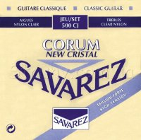 Savarez 500CJ Corum New Cristal Classical Guitar Strings High Tension
