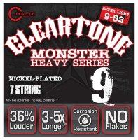 Cleartone 9409-7 Coated Electric Heavy Series Super Light 7 String 09/52