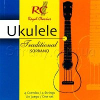 Royal Classics UKS40 Soprano Ukulele Strings