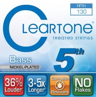 Cleartone 64-130 Bass Nickel Plated 5th String 130