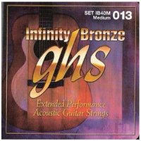 GHS IB40M Infinity Bronze Acoustic Guitar Strings 13/56