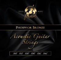 Framus 47210 Phosphor Bronze Acoustic Strings Extra Light 10/46