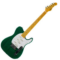 G&L ASAT Z3 (Clear Forest Green, Maple, 3-Ply Pearl) № CLF45565