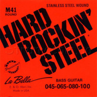 La Bella M41 Stainless Steel Bass Strings 45/100