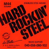 La Bella M44 Stainless Steel Bass Strings 40/102
