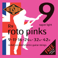 Rotosound R9 Nickel Electric Guitar Strings 9/42
