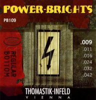 Thomastik-Infeld Power Bright PB109 Regular Bottom Light Electric Guitar Strings 9/42