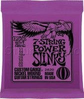 Ernie Ball 2620 7-string Power Slinky Nickel Wound 11/58