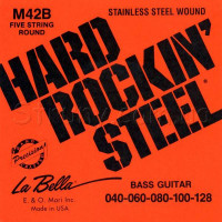 La Bella M42B Stainless Steel Bass Strings 40/128