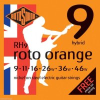 Rotosound RH9 Nickel Electric Guitar Strings 9/46