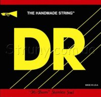 DR MR-45 Hi-Beam Stainless Steel 4 String Medium Bass Strings 45/105