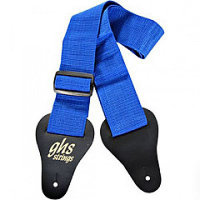 GHS STRINGS GTR STRP PADDED BLUE Ремень