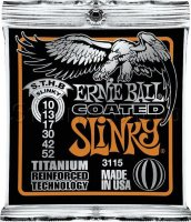 Ernie Ball 3115 Coated Titanium RPS STHB Slinky Electric Guitar Strings 10/52