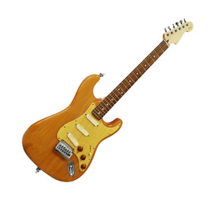 Custom Shop Limited Edition Strat Style Wood Theme