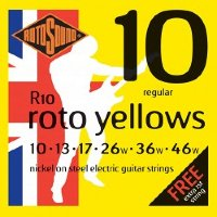 Rotosound R10 Nickel Electric Guitar Strings 10/46