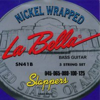 La Bella SN41B Nickel Wrapped Bass Strings 45/125