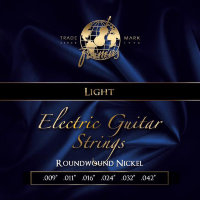 Framus 45200 Blue Label Nickel Wound Electric Guitar Strings Light 9/42