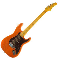G&L COMANCHE (Clear Orange. 3-Ply Tortoise Shell. Maple). № CLF51196