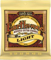 Ernie Ball 2004 Earthwood Acoustic 80/20 Bronze Light 11/52