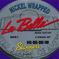 La Bella SN41 Nickel Wrapped Bass Strings 45/100