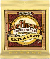 Ernie Ball 2006 Earthwood Acoustic 80/20 Bronze Extra Light 10/50