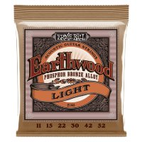 Ernie Ball 2148 Earthwood Acoustic Phosphor Bronze 11/52