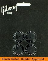 Gibson Tophat Knobs BLACK PRHK-010