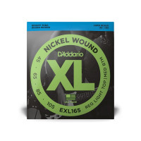 D'Addario EXL165 Nickel Wound Custom Light Electric Bass Strings 45/105