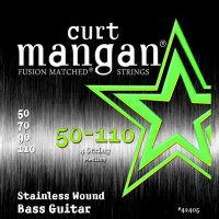 Curt Mangan 42405 Medium Stainless Wound Bass Strings 50/110