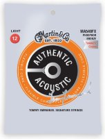 Martin MA540FX Authentic Acoustic Flexible Core 92/8 Phosphor Bronze Light - Tommys Choice (12-54)