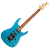 G&L INVADER (Lake Placid Blue, Rosewood) (+HOT RAILS). № CLF52384