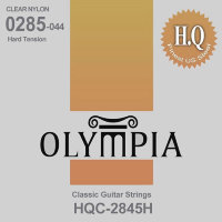 Olympia HQC-2845H Classical Guitar Strings Nylon Hard Tension 28/45