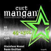 Curt Mangan 42408L Extra Long Stainless Bass 5-String 45/130