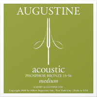 Augustine PB1356 Acoustic Guitar Strings Medium 13/56