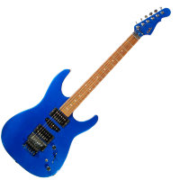 G&L INVADER Plus (Electric Blue. Rosewood). № CLF51036