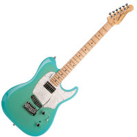 GODIN 040926 - Session Custom 59 Limited Coral Blue HG MN With Bag
