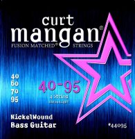Curt Mangan 44095 Extra Light Nickel Wound Bass Strings 40/95