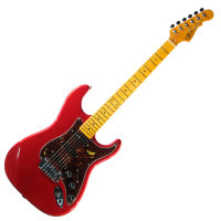 G&L LEGACY (Candy Apple Red.3-Ply Tortoise Shell. Maple) II
