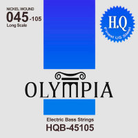 Olympia HQB-45105 Nickel Wound Long Scale Electric Bass Strings 45/105