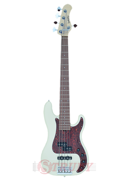 Бас-гітара Sadowsky MetroLine 21-Fret Hybrid P/J Bass, Alder, 5-String (Solid Olympic White High Polish)