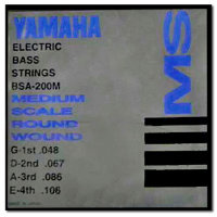 Yamaha BSA200M Bass Stainless Steel 48/106