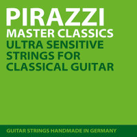 Pirastro P588010 Pirazzi Master Classic Classical Guitar Strings Medium Tension