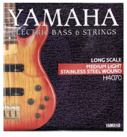 Yamaha H4070 Stainless Steel Medium Light 6 String 32/126