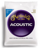 Martin M150X Traditional Acoustic 80/20 Bronze Medium 13/56
